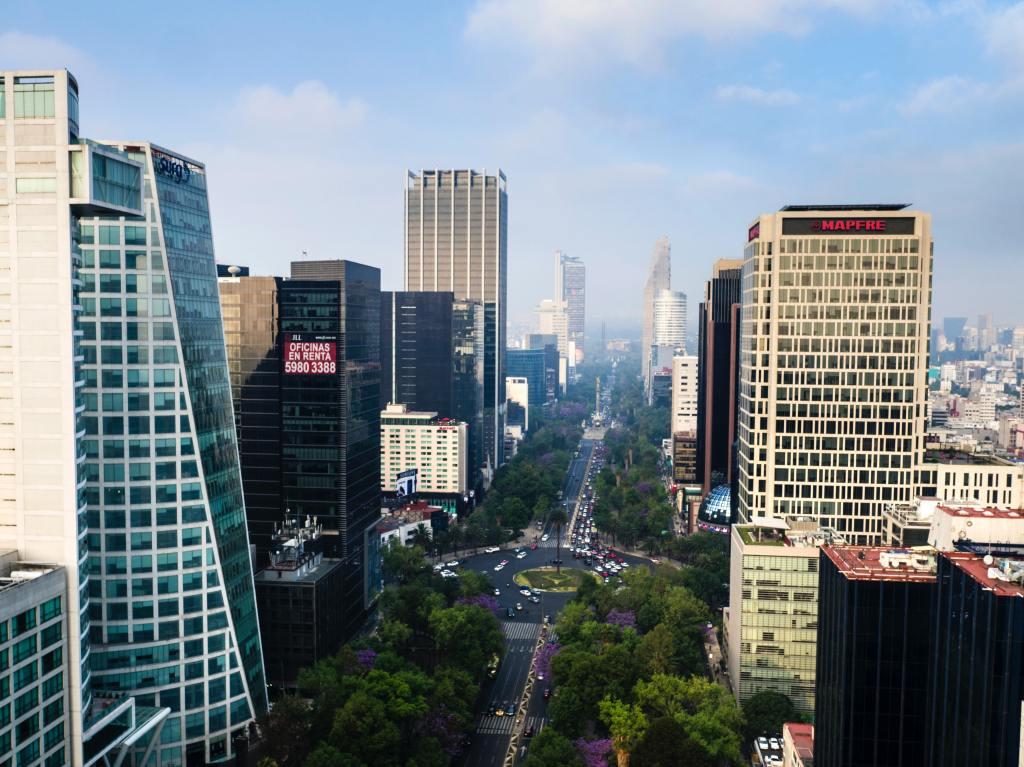High Rise Building During Daytime Avenida Paseo de la Reforma, Lomas de Chapultepec, Mexico City, CDMX, Mexico